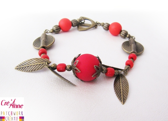 Bracelet Polaris Rouge 15€