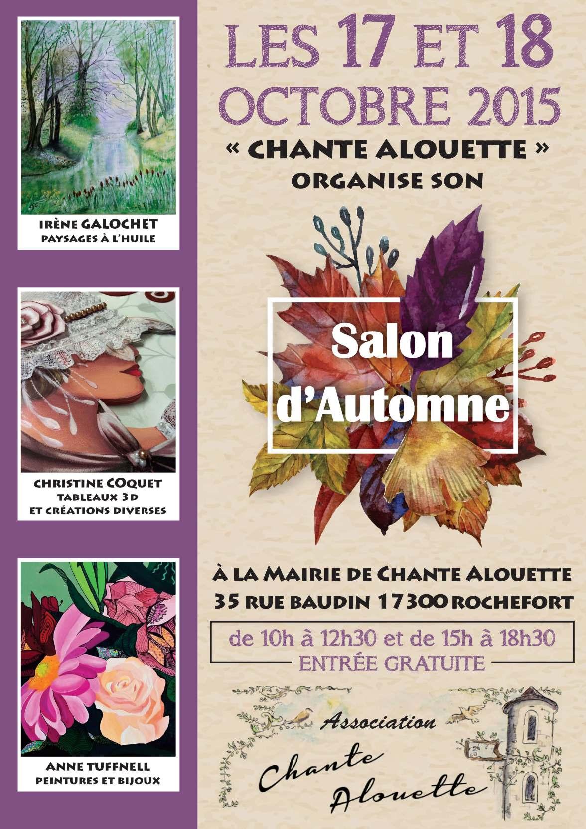 SalonAutomne2015-Chante-Alouette-afficheOK